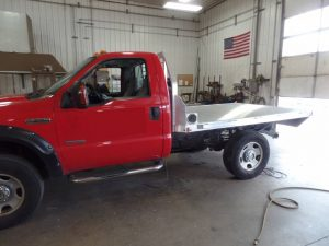 Truck Flat Bed Body pick one up, or have it installed