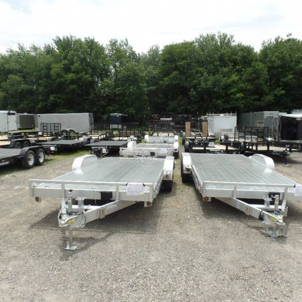 Aluminum Open Car Trailers